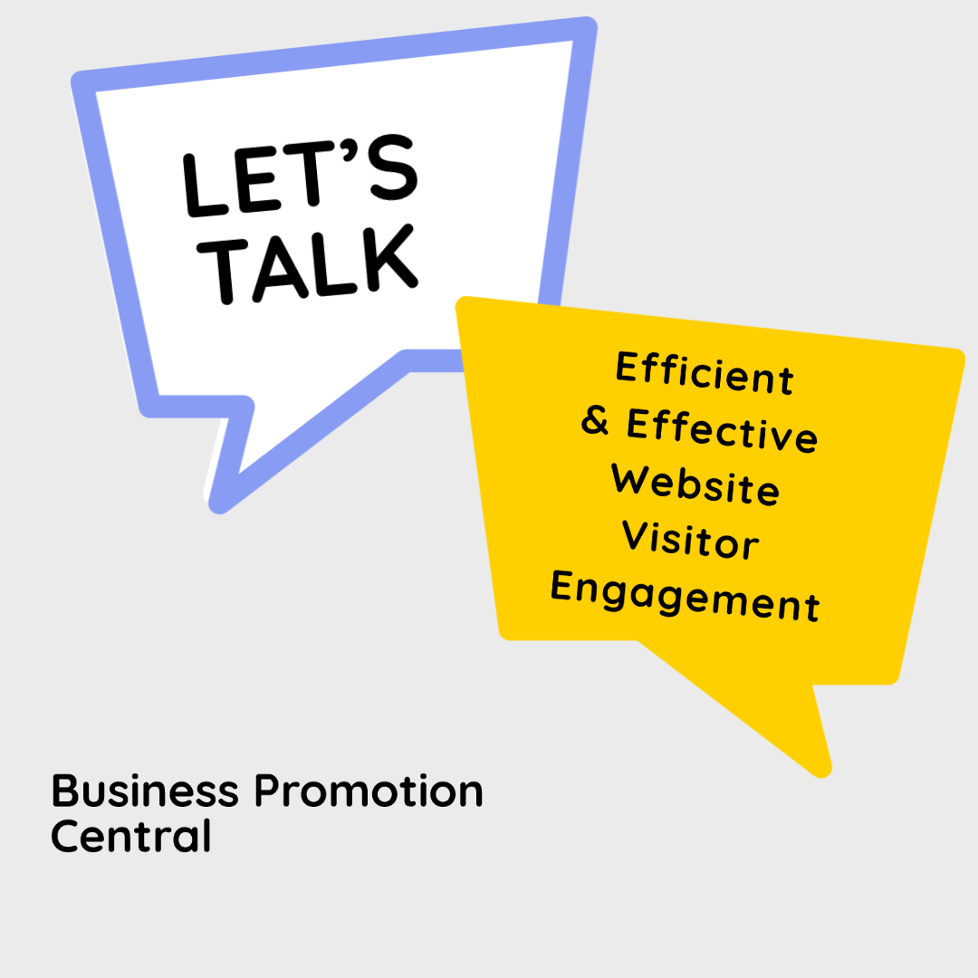 lets talk - efficient and effective website visitor engagement