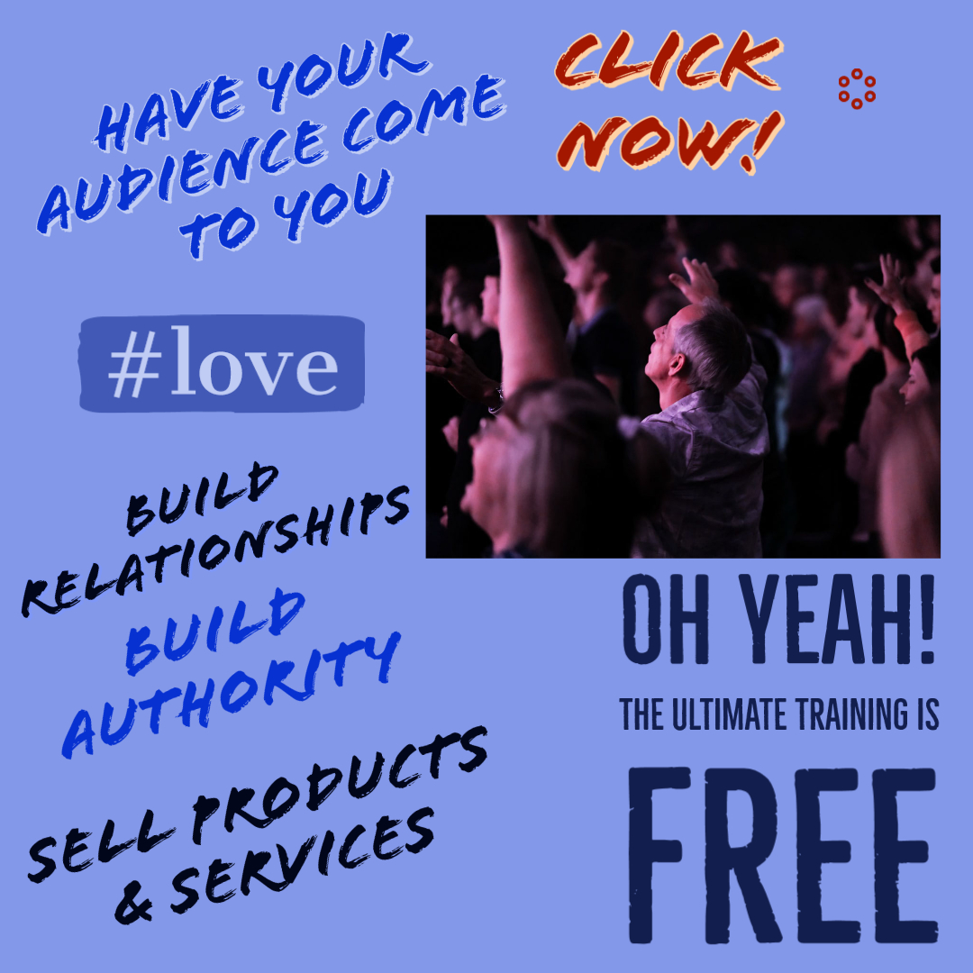 Have Your Audience Come To You - No Ads
