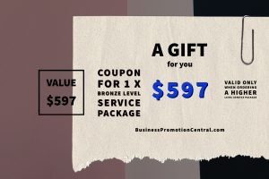 Gift Coupon - $597 Value Bronze Level Service Package