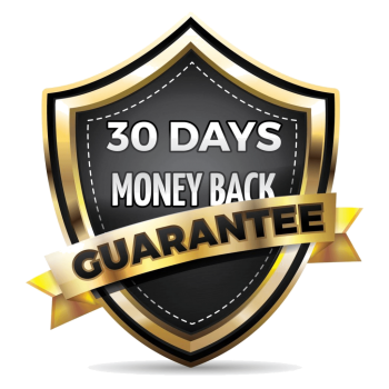 Full 30 day money back guarantee