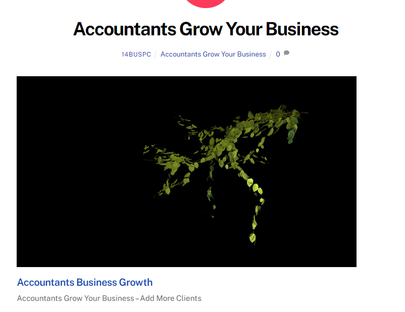 Accountants Grow Your Business Business Promotion Central